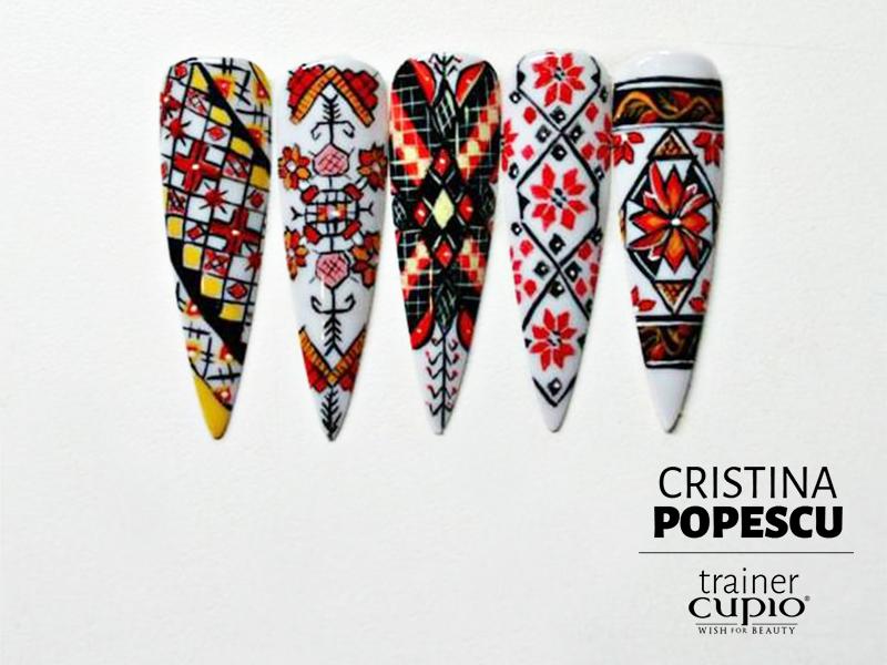 Curs Nail Art Motive Tradiționale Românești Cupio Blog