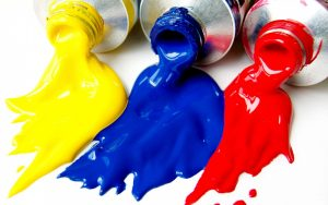Yellow-Blue-Red-Colors-Bottle-Fall-Down