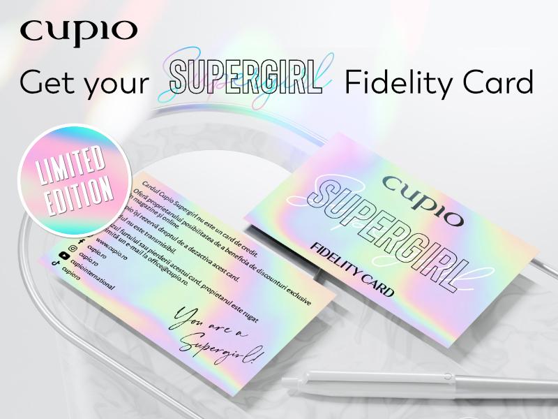 card fidelitate supergirl